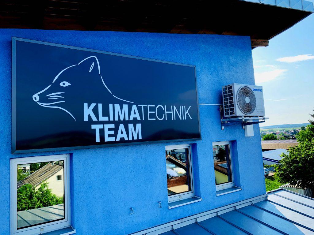 Außengerät Samsung für unser Büro