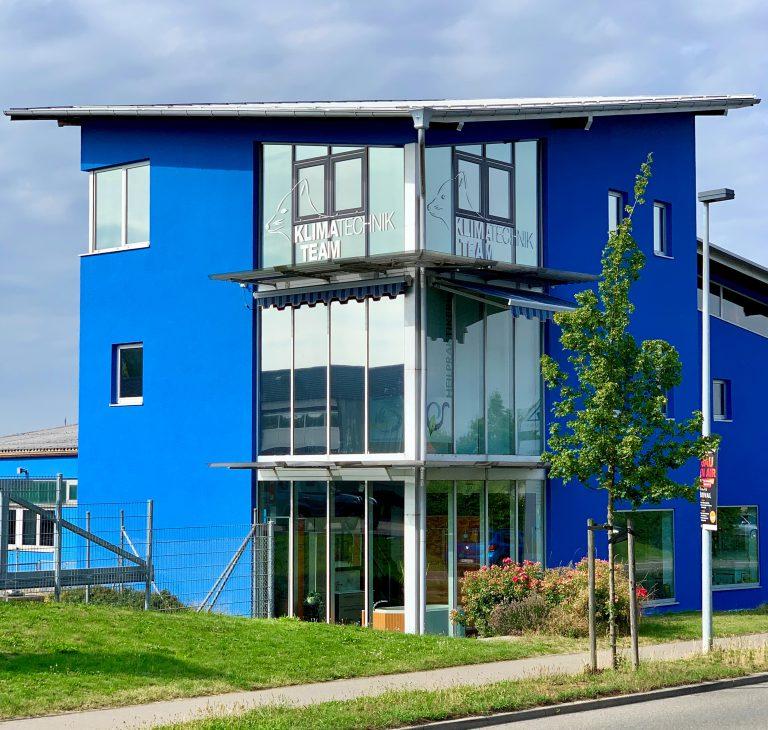 Bürogebäude Klimatechnik Team