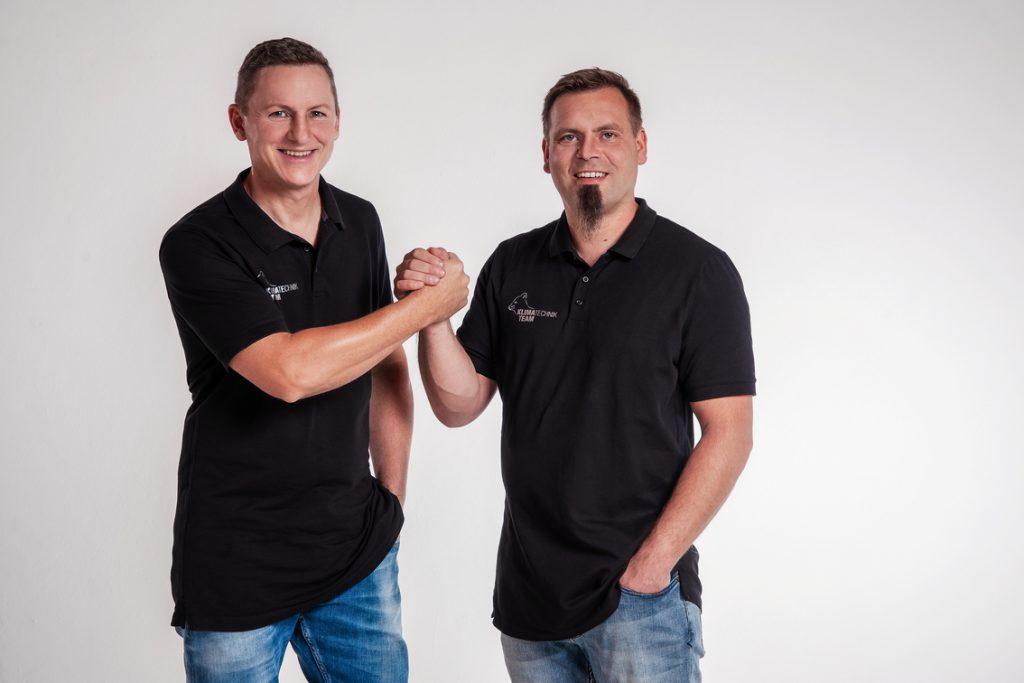 Inhaber Klimatechnik Team K&K GmbH Daniel Kocich & Stephan Kreft